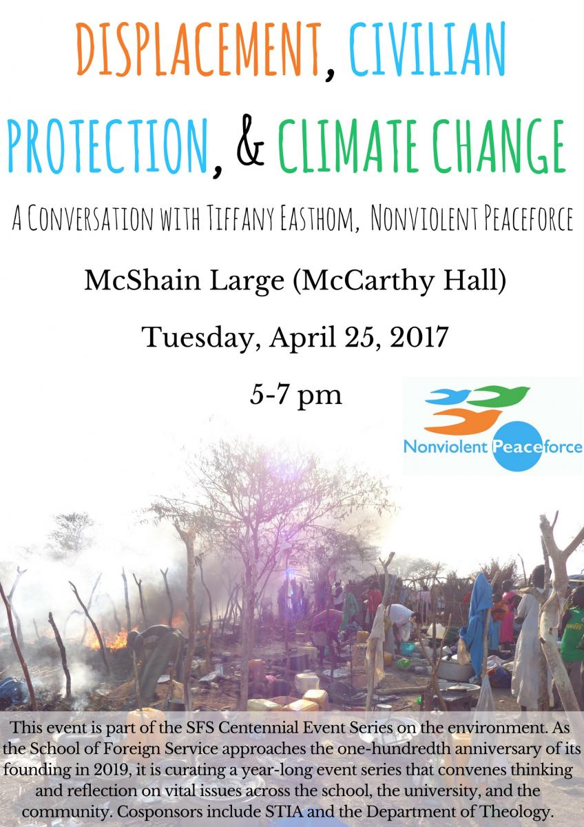 Displacement, Civilian Protection, and Climate Change