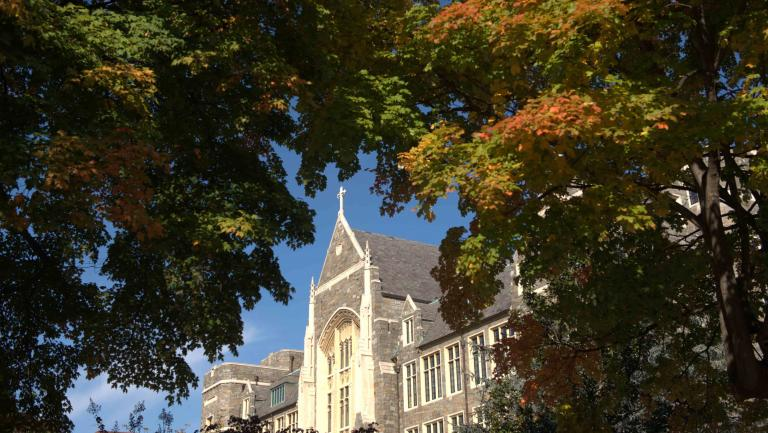 image of Georgetown's Healy Hall