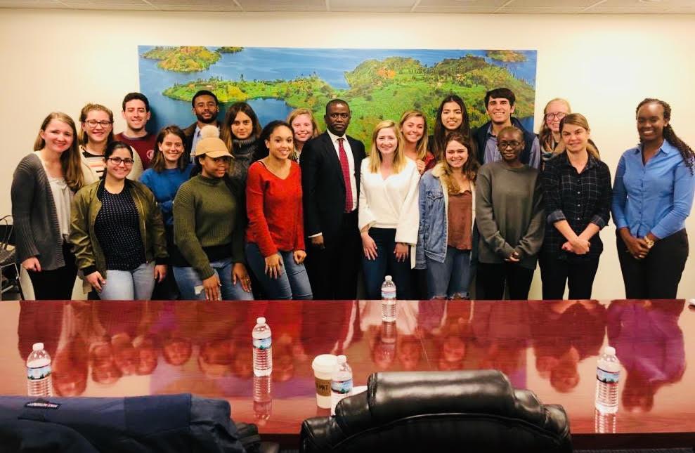 Rwanda Embassy Visit